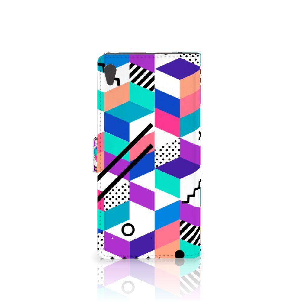 Sony Xperia XA Ultra Bookcase Blokken Kleurrijk