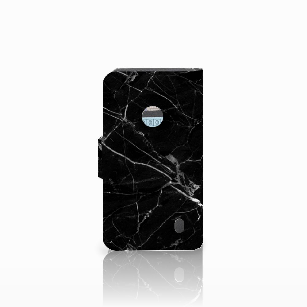 Nokia Lumia 520 Bookcase Marmer Zwart