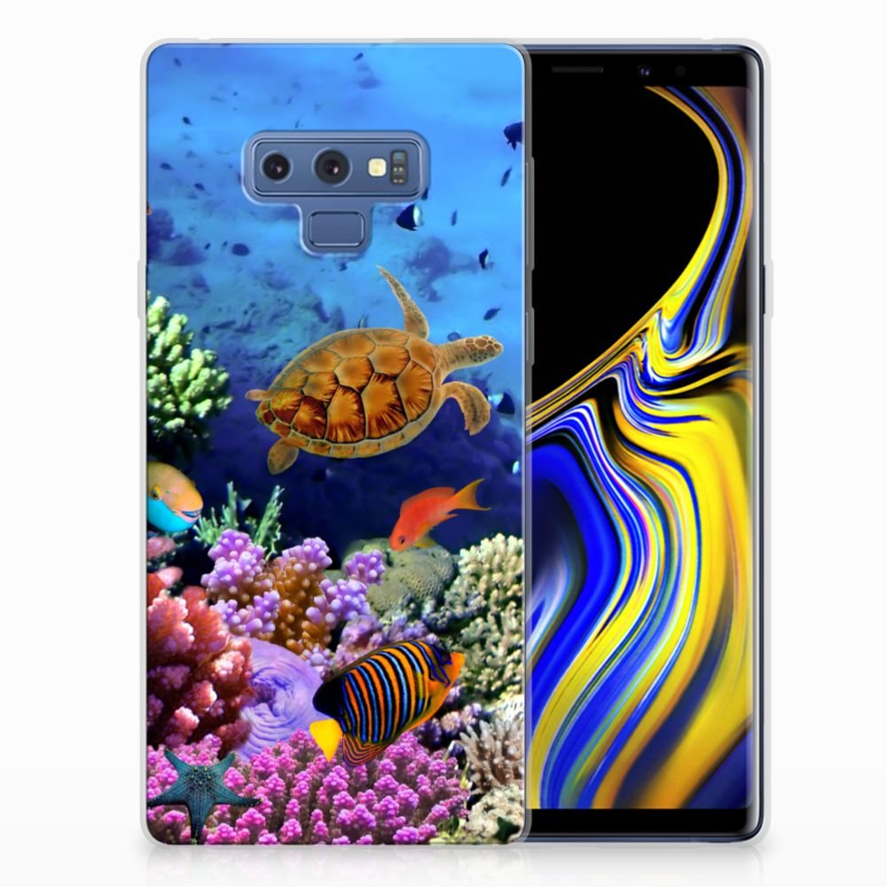 Samsung Galaxy Note 9 TPU Hoesje Design Vissen