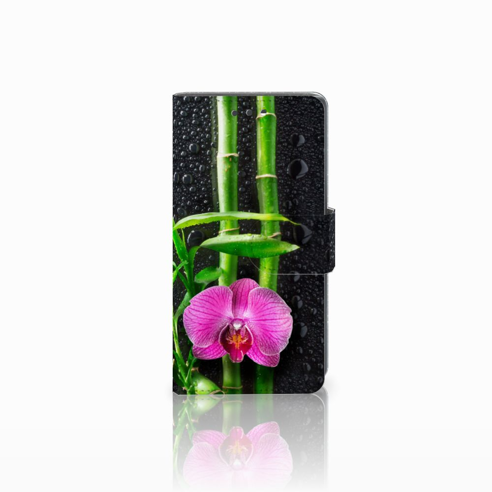 Sony Xperia X Compact Boekhoesje Design Orchidee