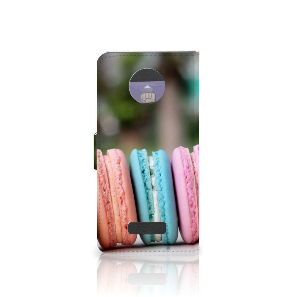 Motorola Moto Z Book Cover Macarons