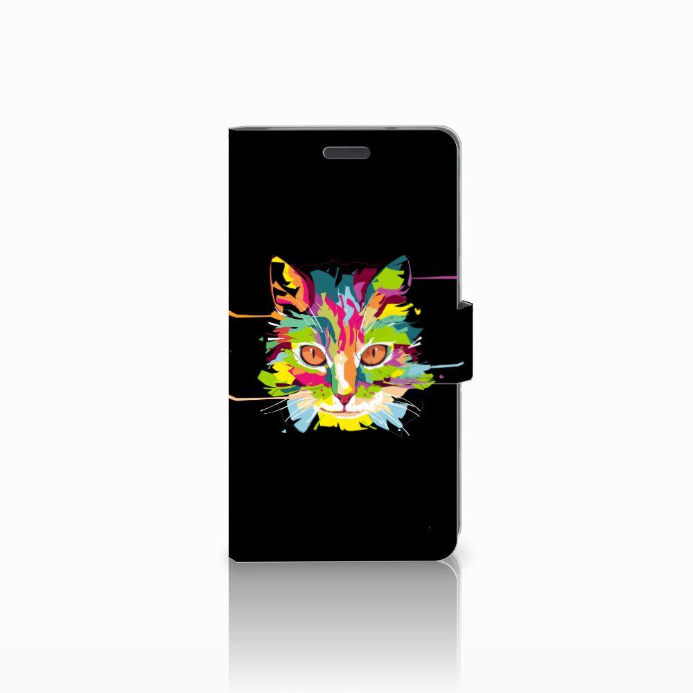 LG X Power Uniek Boekhoesje Cat Color