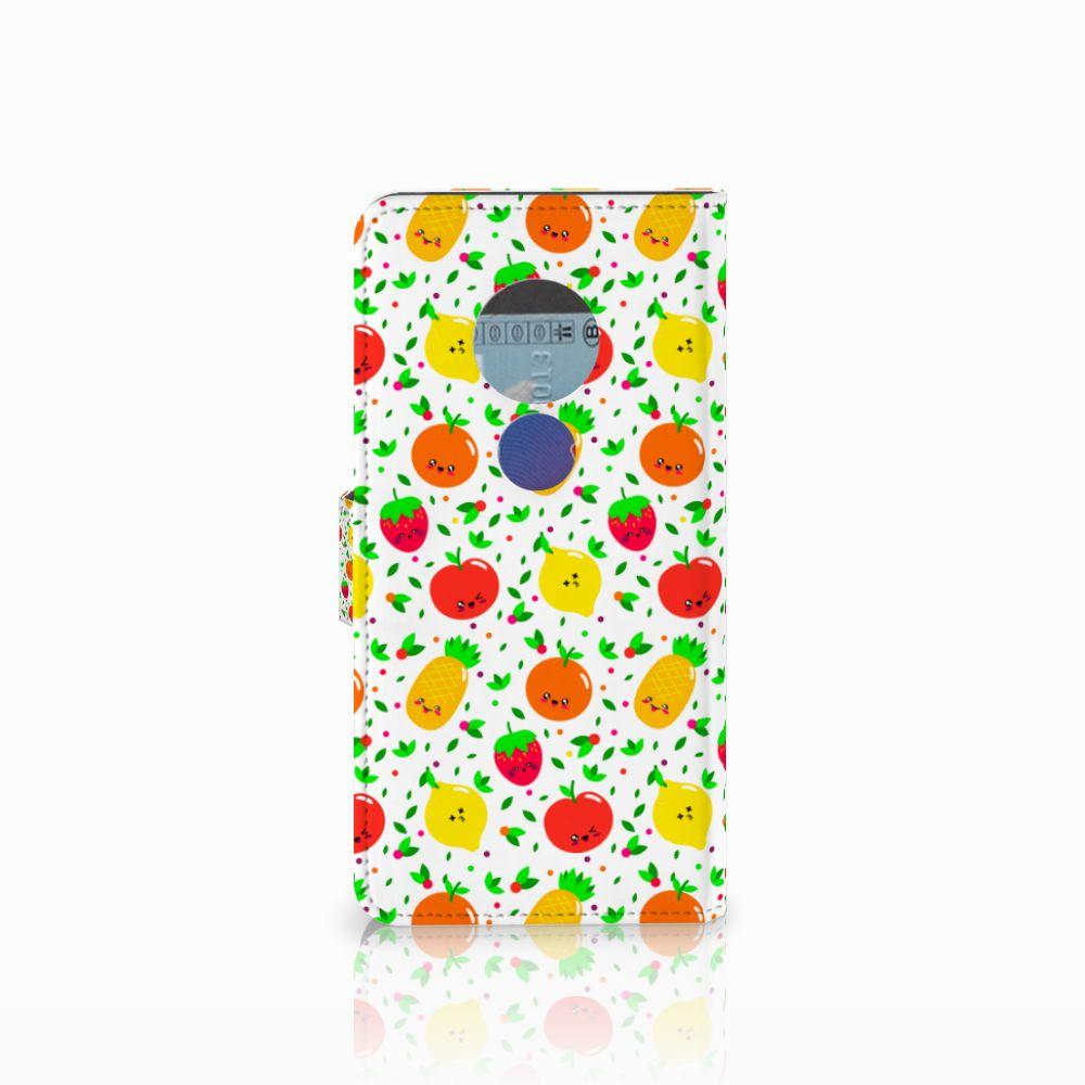 Motorola Moto E5 Book Cover Fruits