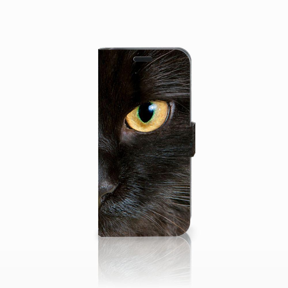 Acer Liquid Z630 | Z630s Uniek Boekhoesje Zwarte Kat
