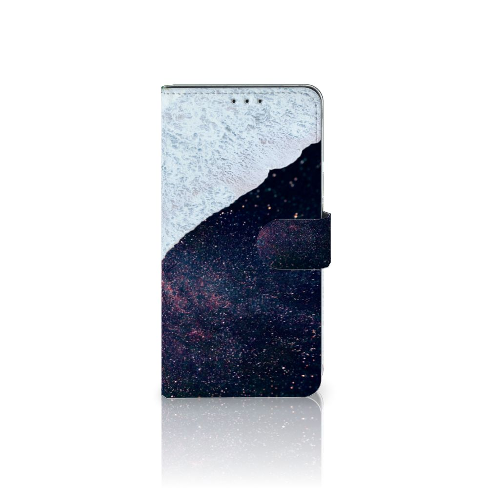Samsung Galaxy A8 Plus (2018) Boekhoesje Design Sea in Space