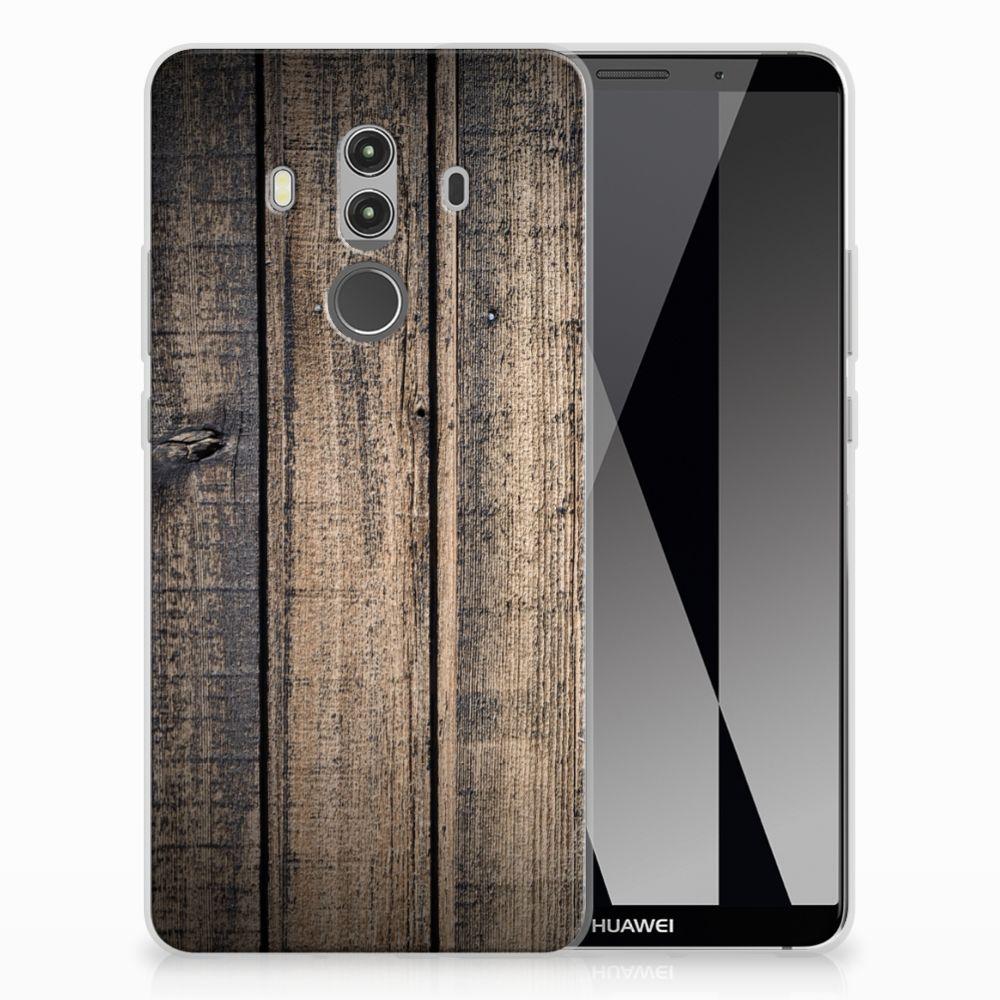 Huawei Mate 10 Pro TPU Hoesje Design Steigerhout