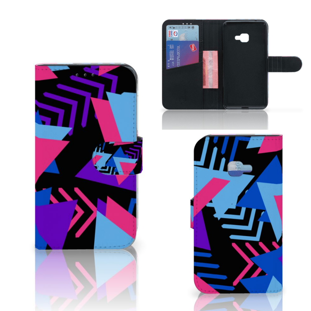 Samsung Galaxy Xcover 4 | Xcover 4s Bookcase Funky Triangle