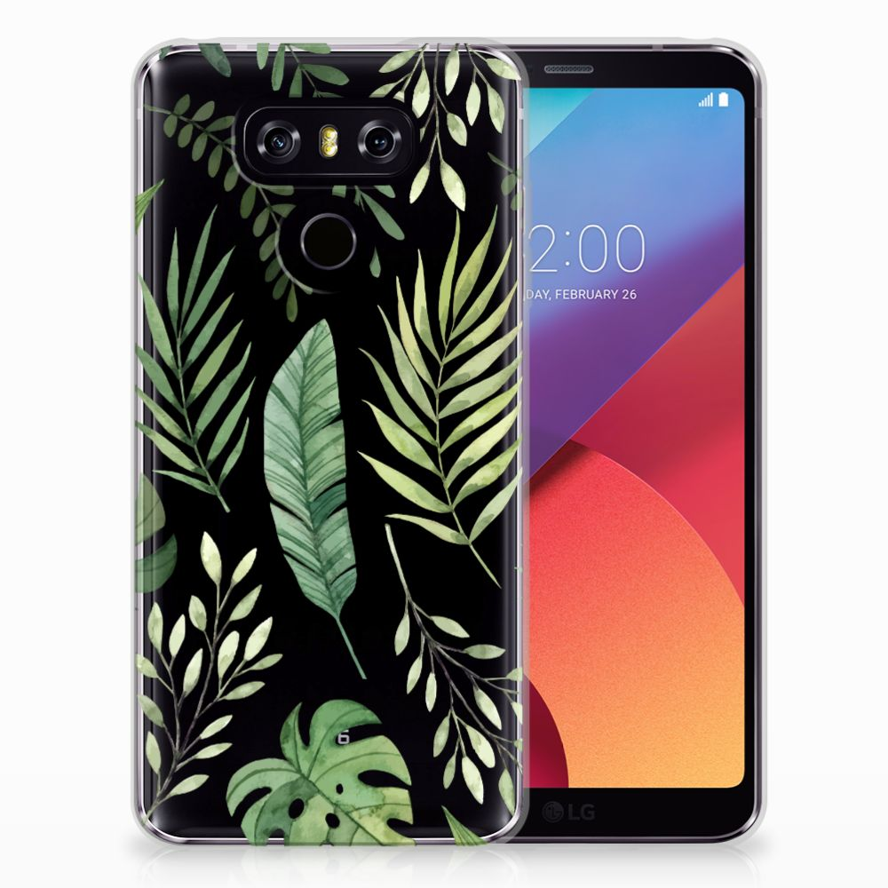 LG G6 TPU Case Leaves