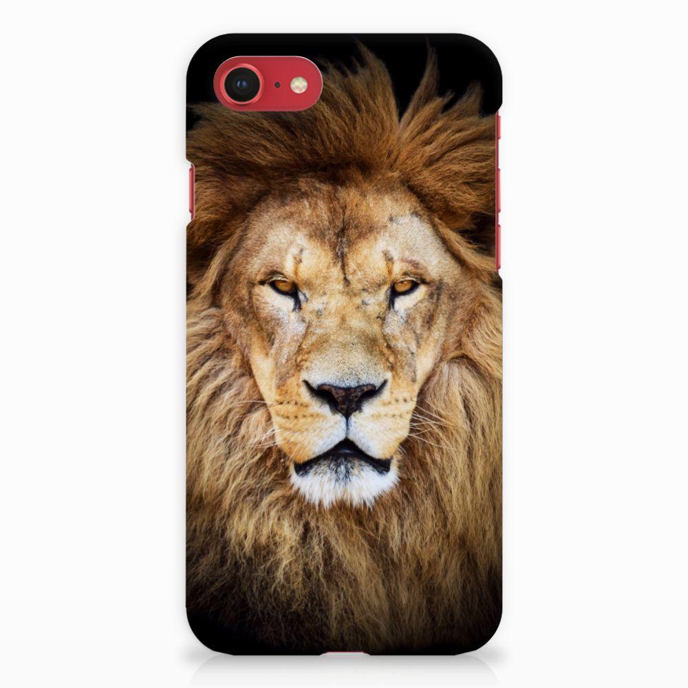 Apple iPhone 7 | 8 Hardcase Hoesje Design Leeuw