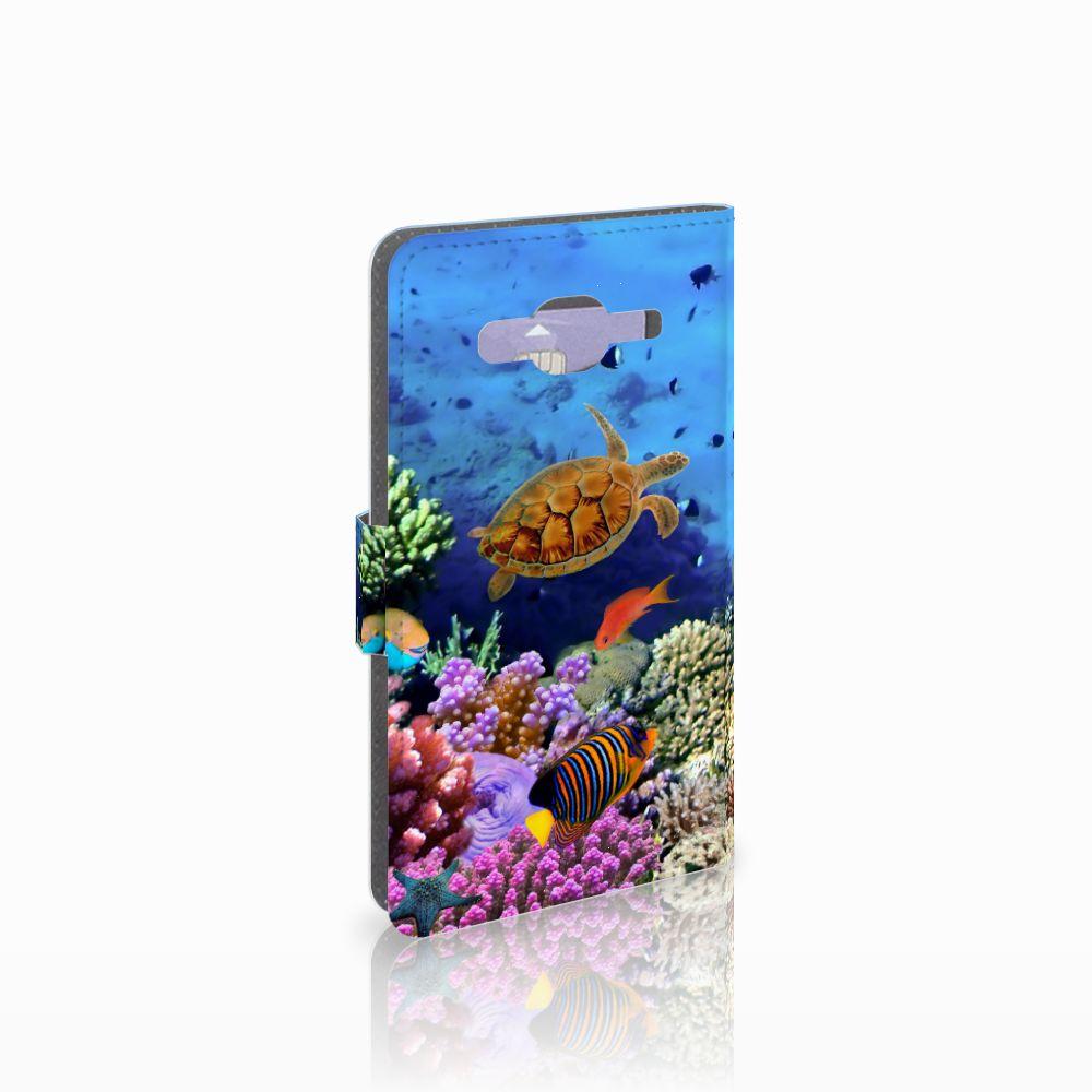 Samsung Galaxy J5 (2015) Telefoonhoesje met Pasjes Vissen