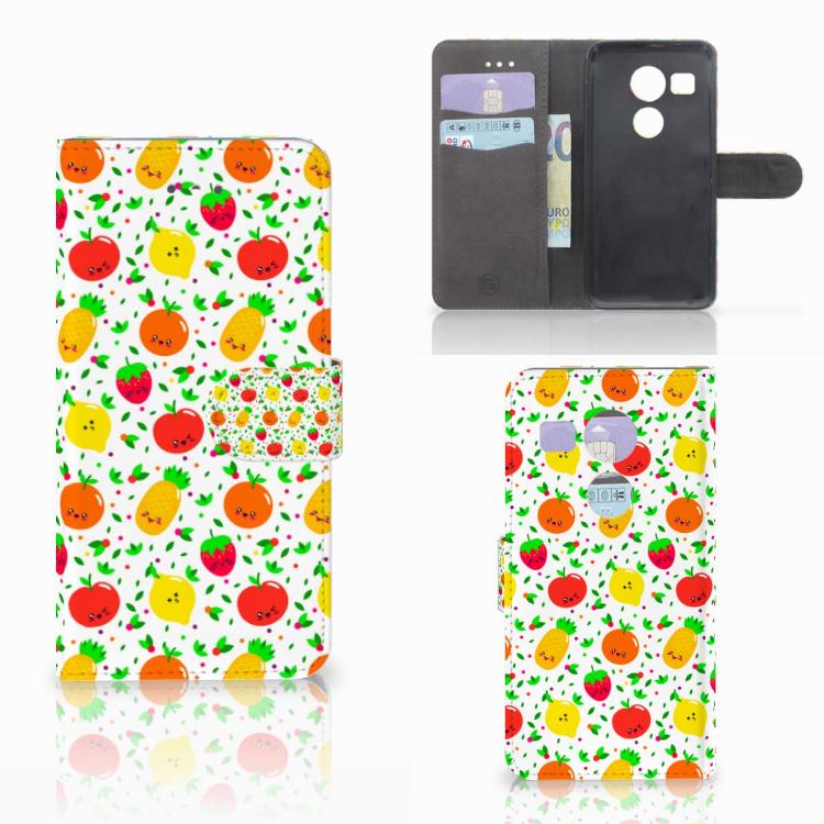 LG Nexus 5X Book Cover Fruits
