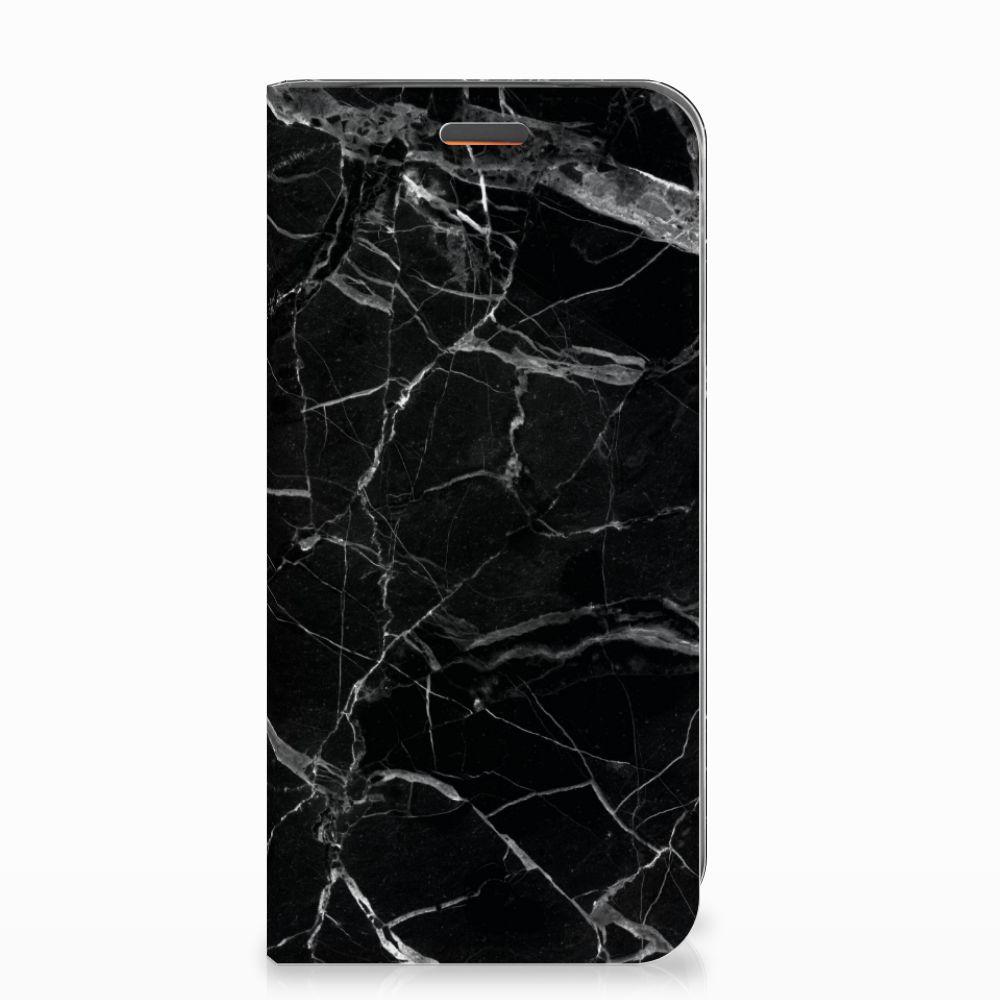 Motorola Moto E5 Play Standcase Marmer Zwart - Origineel Cadeau Vader