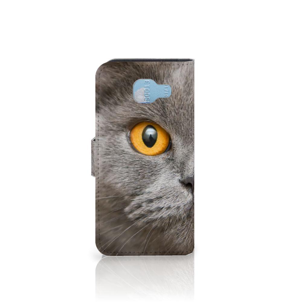 Telefoonhoesje met Pasjes Samsung Galaxy A5 2016 Britse Korthaar