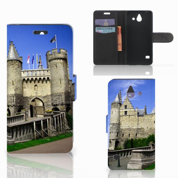 Huawei Ascend Y550 Flip Cover Kasteel