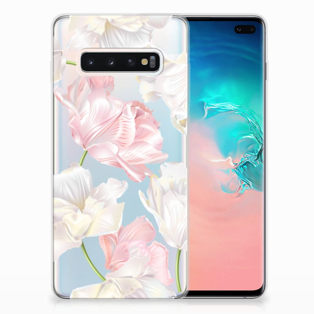 Samsung Galaxy S10 Plus TPU Case Lovely Flowers