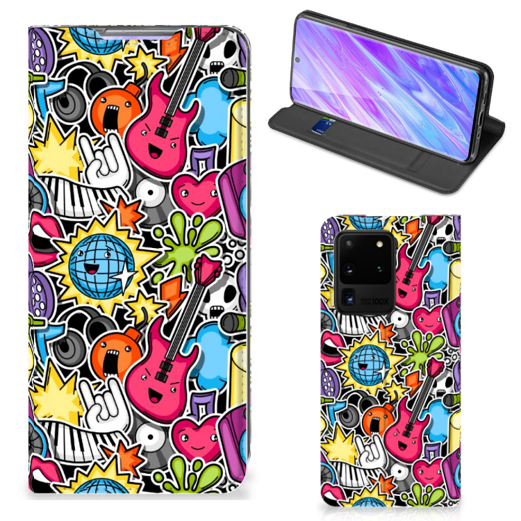 Samsung Galaxy S20 Ultra Hippe Standcase Punk Rock