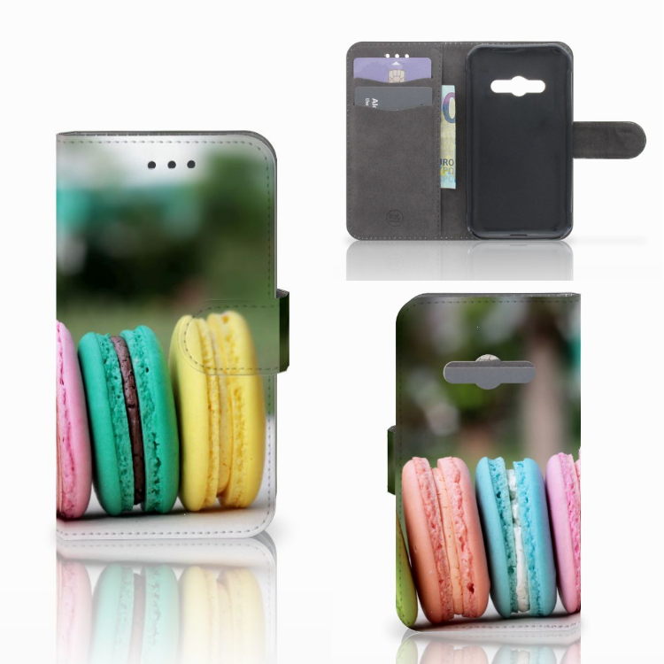 Samsung Galaxy Xcover 3 | Xcover 3 VE Book Cover Macarons