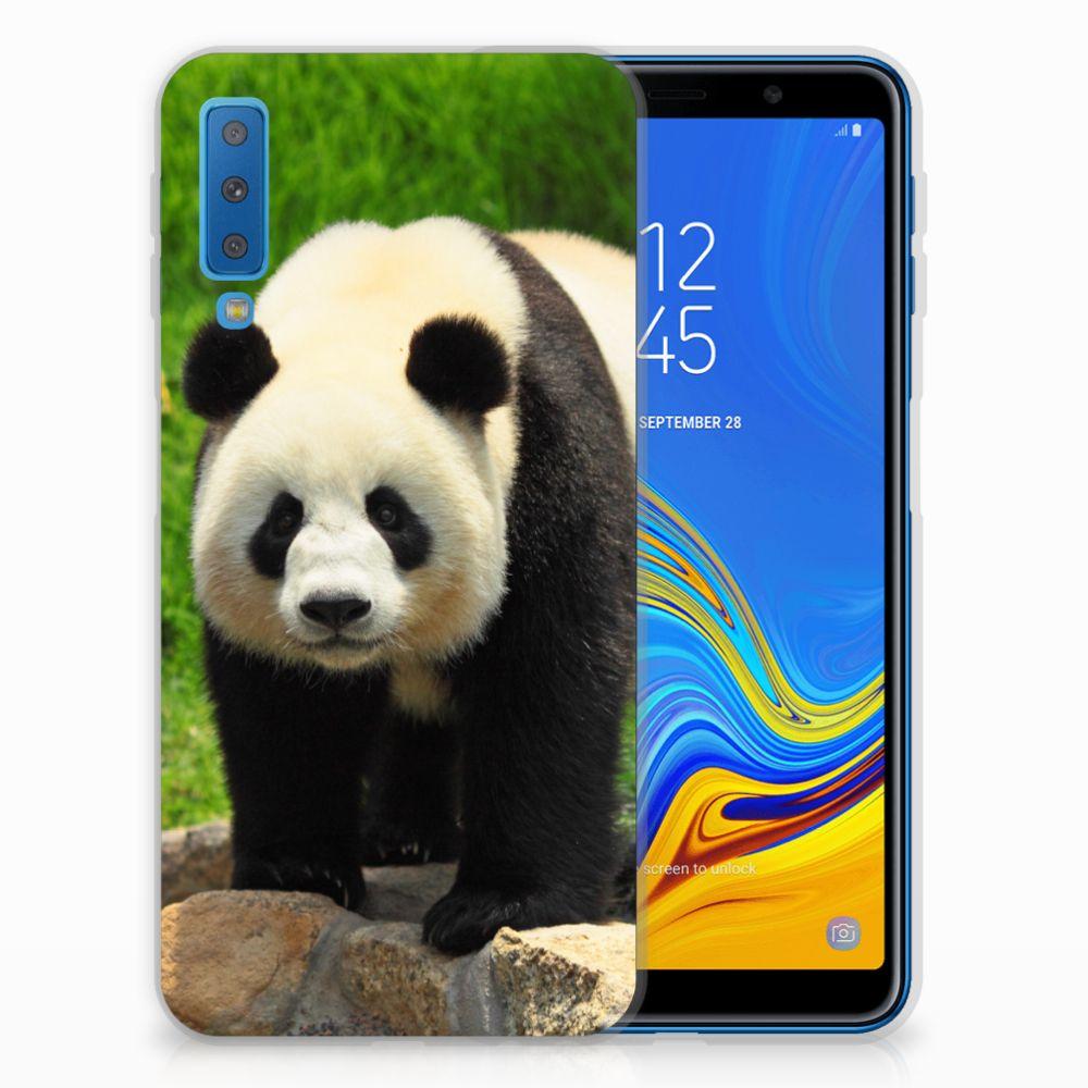 Samsung Galaxy A7 (2018) Leuk Hoesje Panda