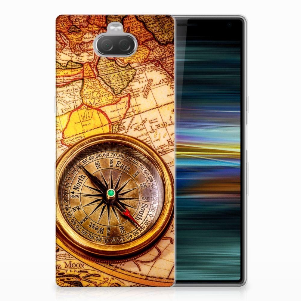 Sony Xperia 10 Plus Siliconen Back Cover Kompas