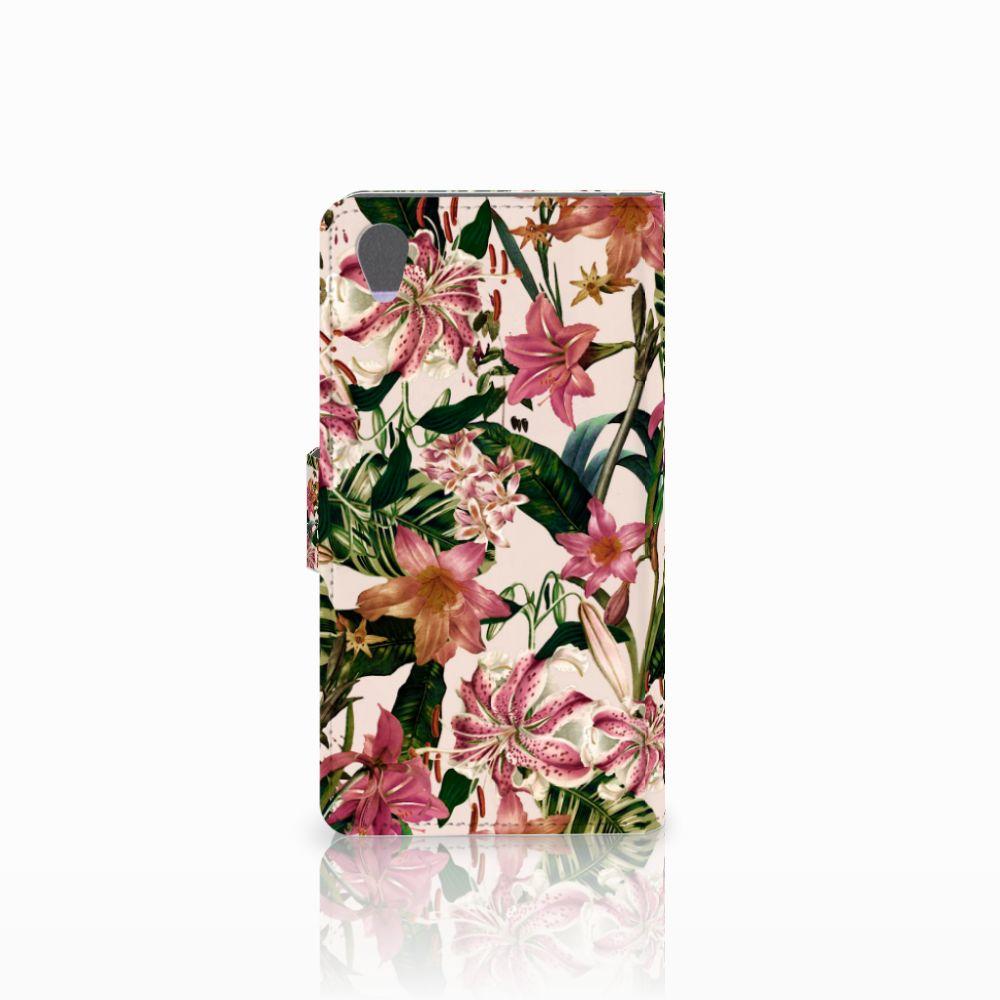 Sony Xperia Z1 Hoesje Flowers