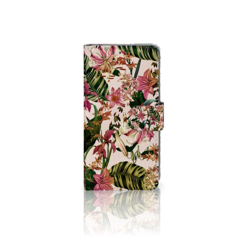 Sony Xperia Z2 Uniek Boekhoesje Flowers