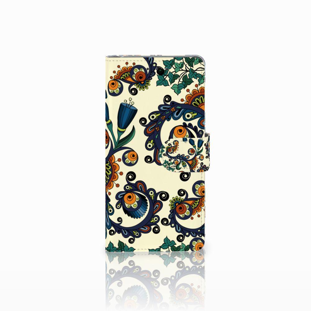 Samsung Galaxy Grand Prime | Grand Prime VE G531F Boekhoesje Design Barok Flower