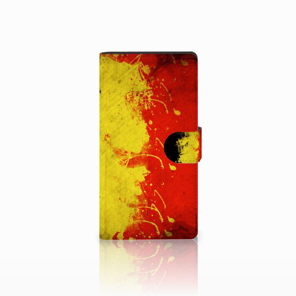 Sony Xperia C4 Boekhoesje Design Belgische Vlag