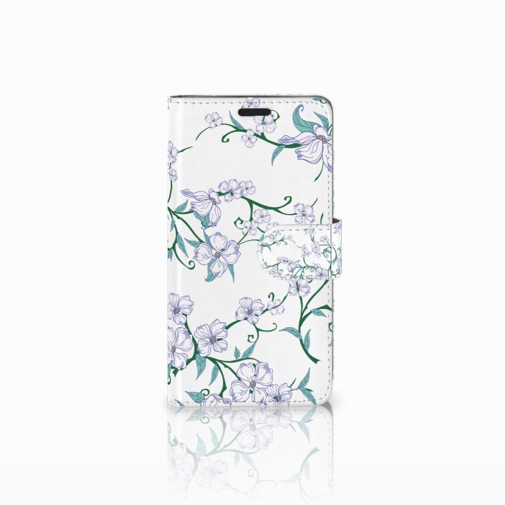 LG G3 Uniek Boekhoesje Blossom White