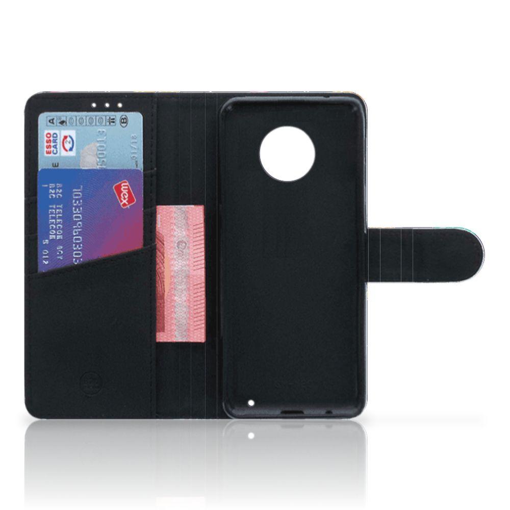 Boekhoesje Motorola Moto G6 Plus met eigen foto