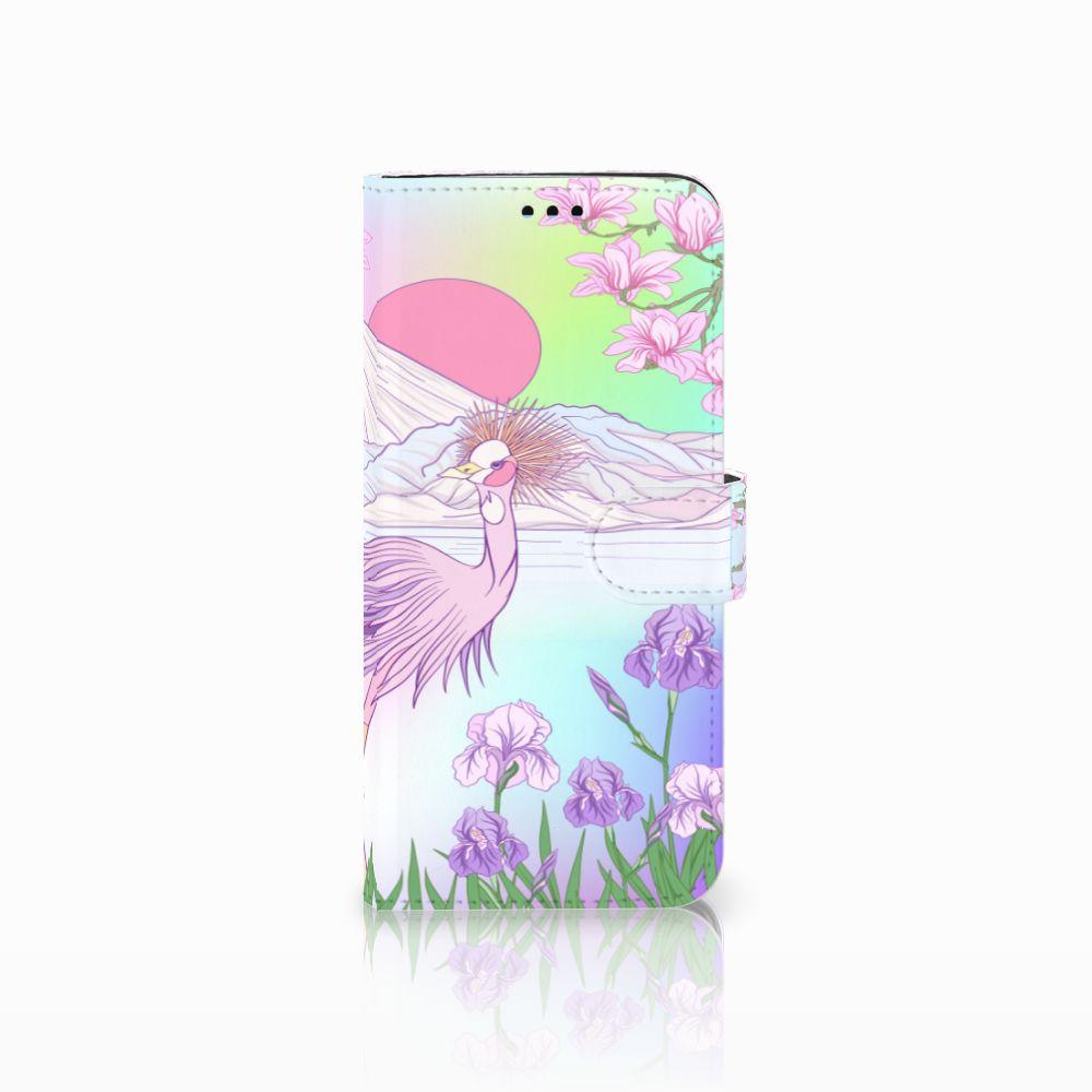 Samsung Galaxy S9 Plus Uniek Boekhoesje Bird
