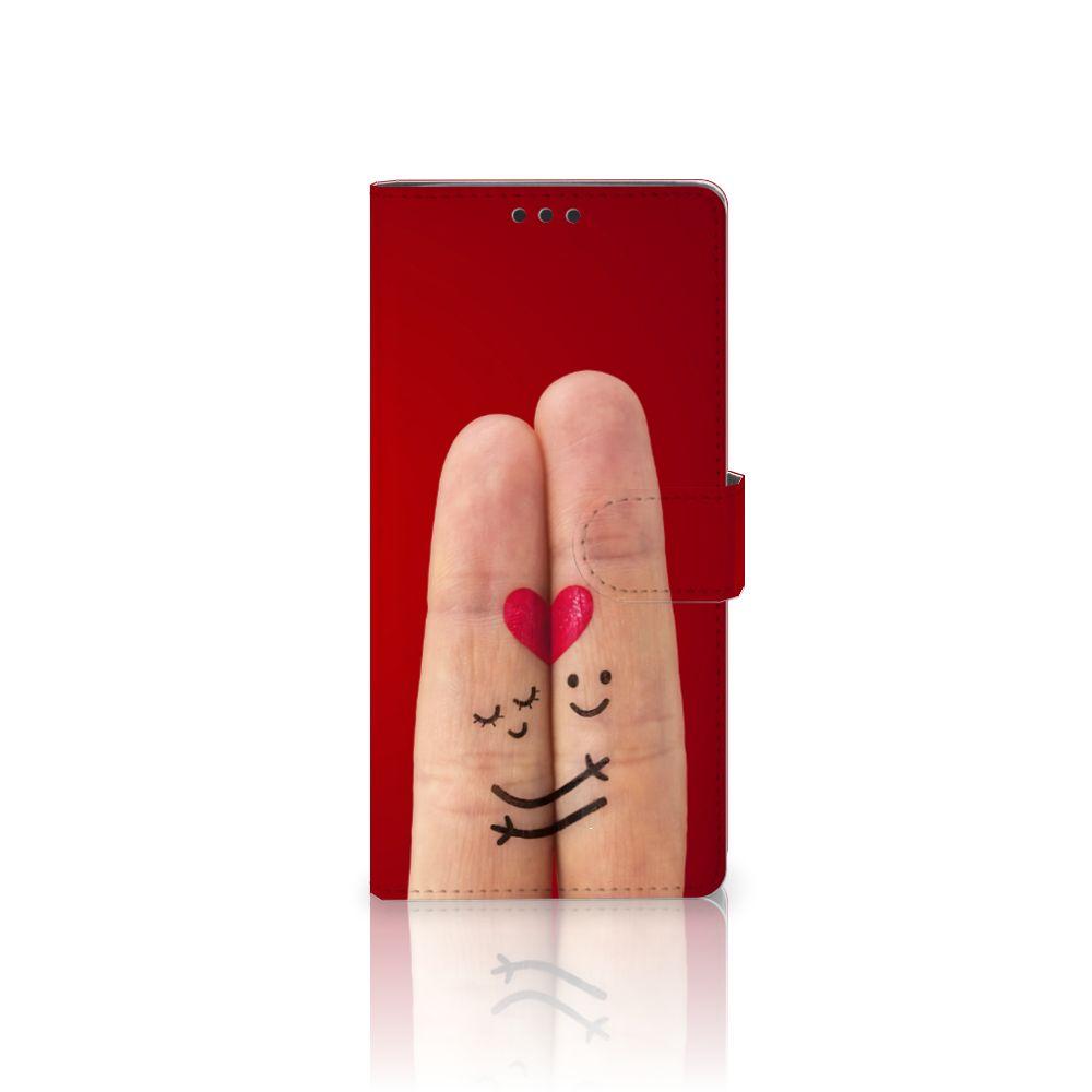 Sony Xperia XA Ultra Uniek Boekhoesje Liefde