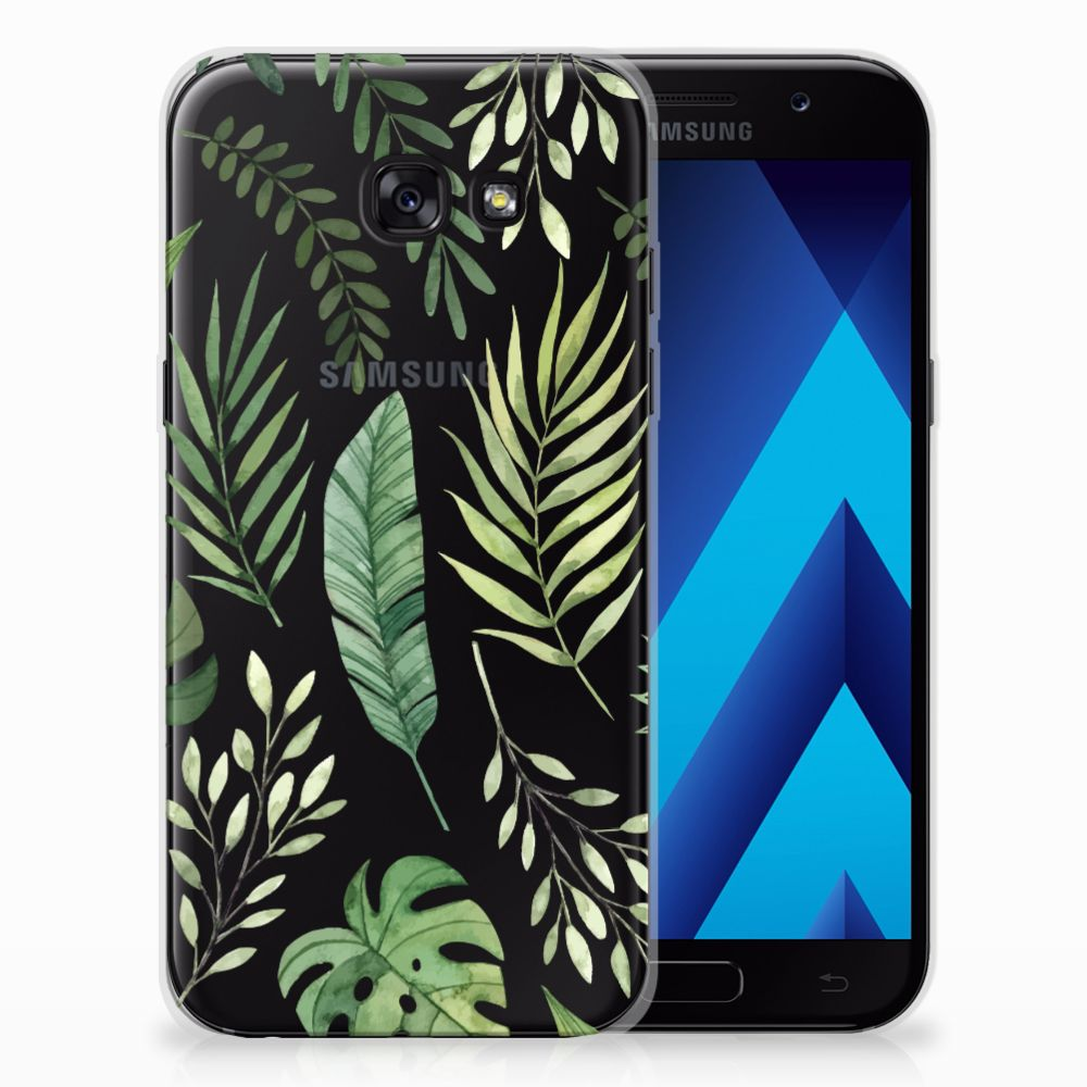 Samsung Galaxy A5 2017 TPU Case Leaves