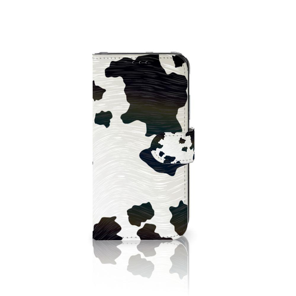 Samsung Galaxy S7 Edge Boekhoesje Design Koeienvlekken