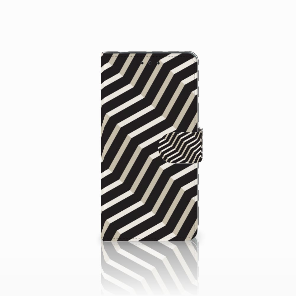 Samsung Galaxy J6 Plus (2018) Boekhoesje Design Illusion
