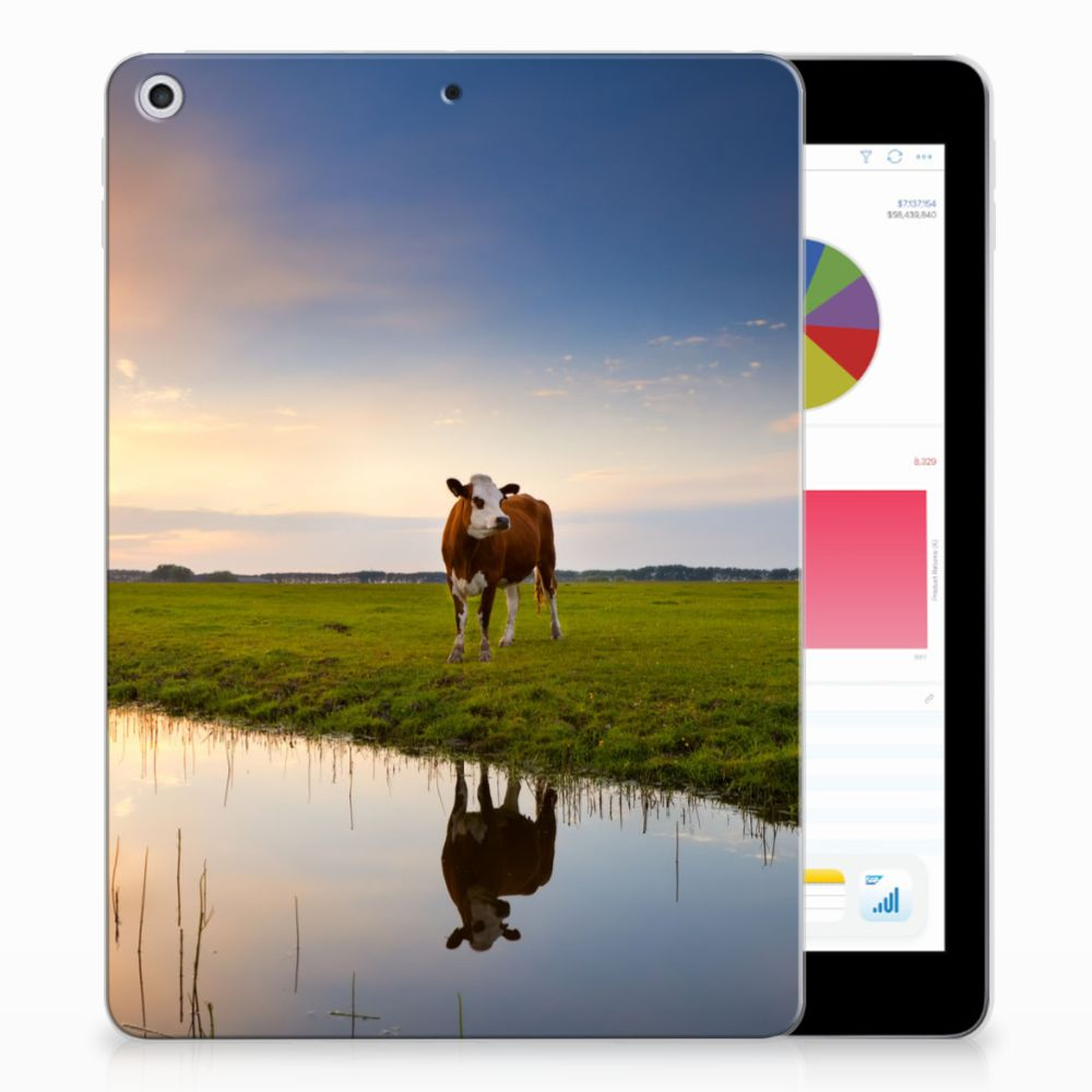 Apple iPad 9.7 2018 | 2017 Tablethoesje Design Koe