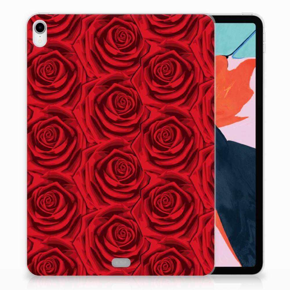 Apple iPad Pro 11 inch (2018) Uniek TPU Hoesje Red Roses