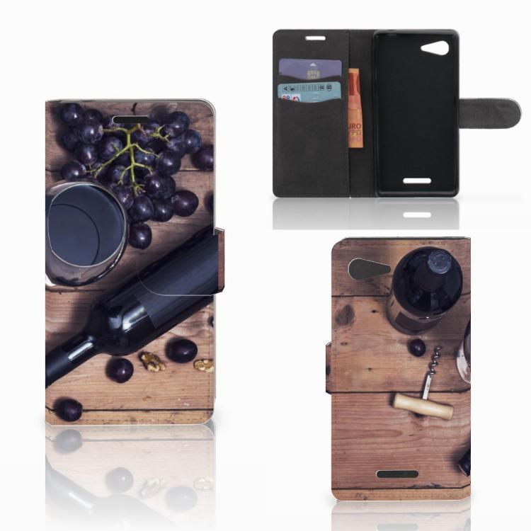 Sony Xperia E3 Book Cover Wijn