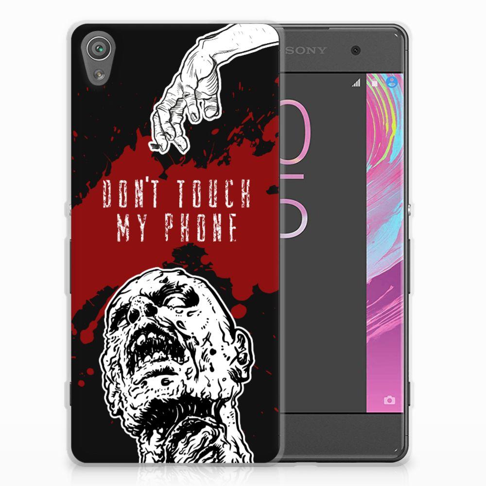 Sony Xperia XA   XA Dual Silicone-hoesje Zombie Blood