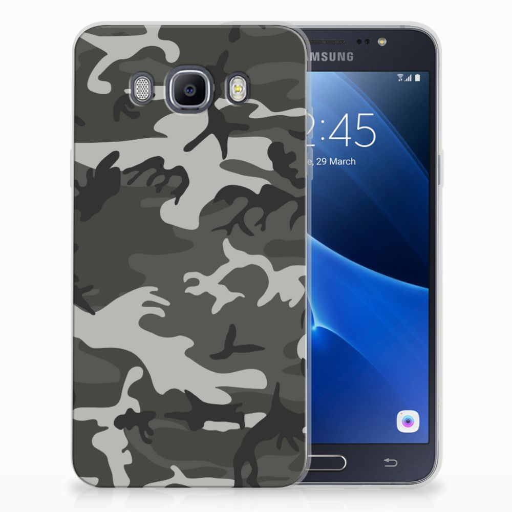 Samsung Galaxy J7 2016 Uniek TPU Hoesje Army Light