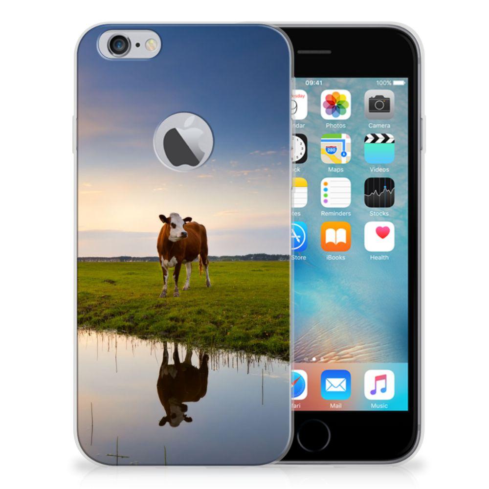 Apple iPhone 6 Plus | 6s Plus TPU Hoesje Design Koe