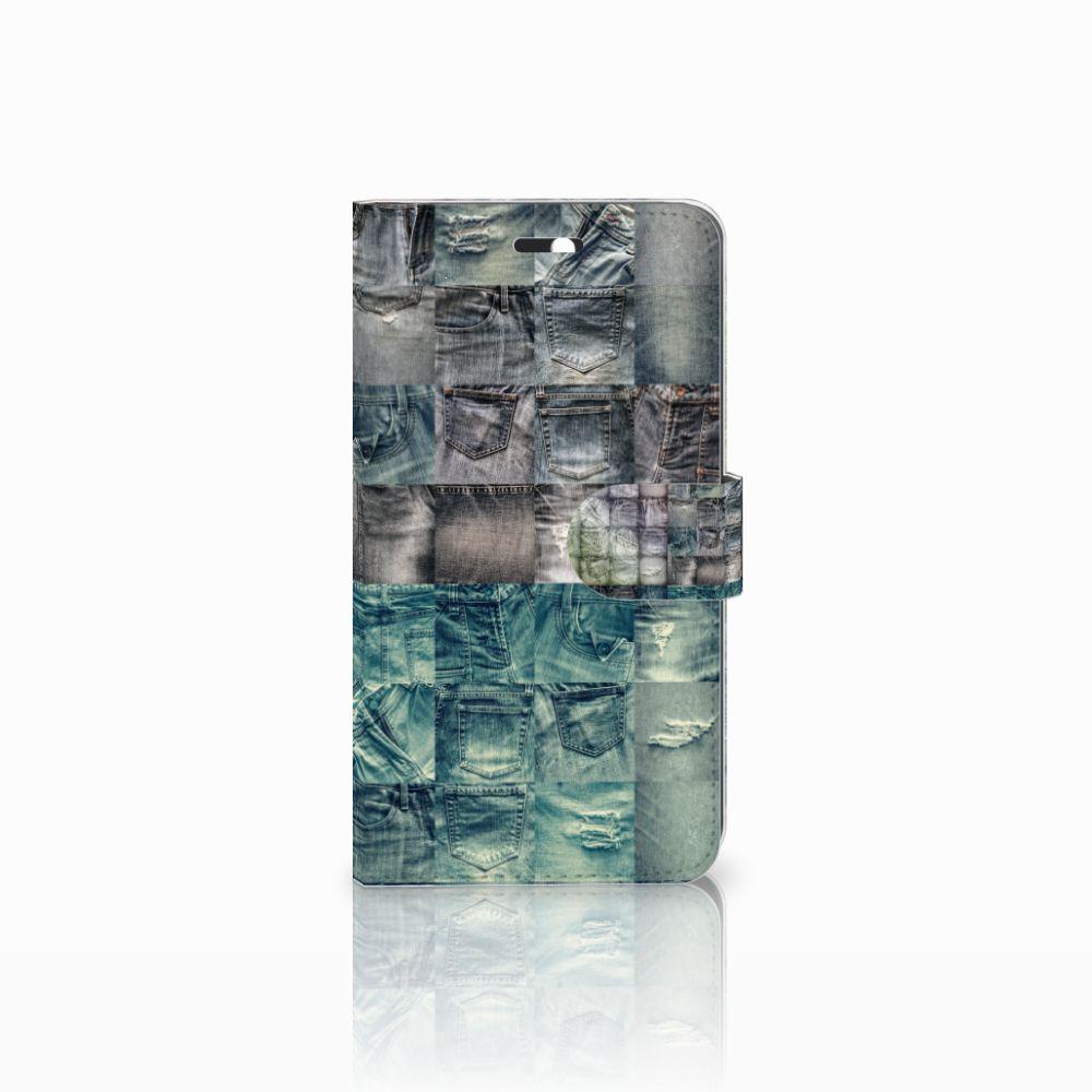 Huawei Y6 II | Honor 5A Uniek Boekhoesje Spijkerbroeken