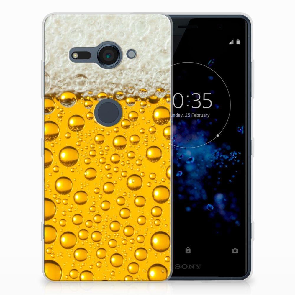 Sony Xperia XZ2 Compact Siliconen Case Bier