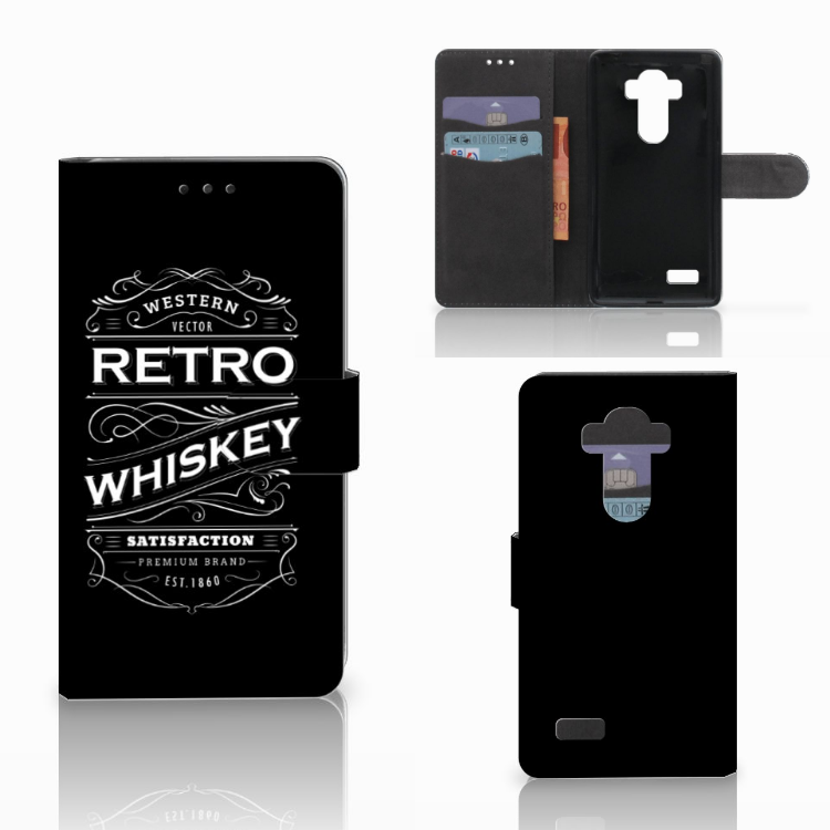 LG G4 Book Cover Whiskey