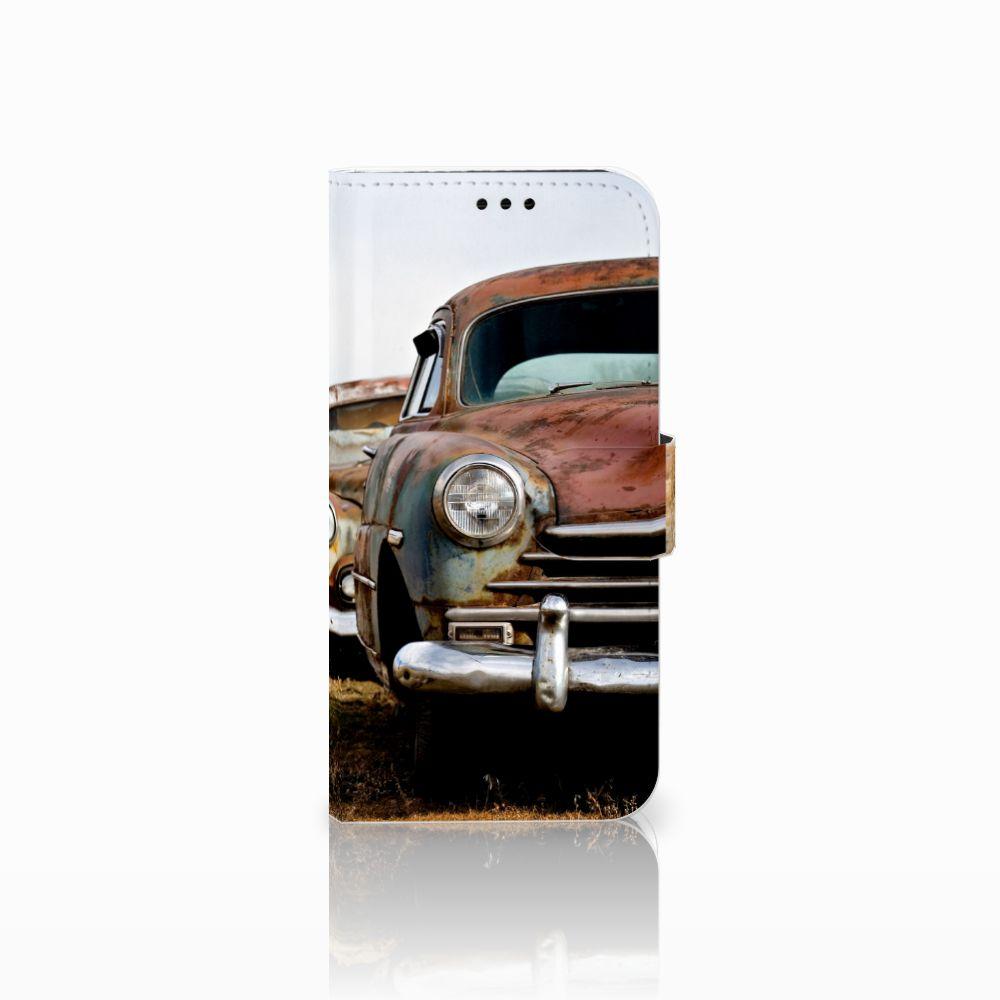 Samsung Galaxy A5 2017 Telefoonhoesje met foto Vintage Auto