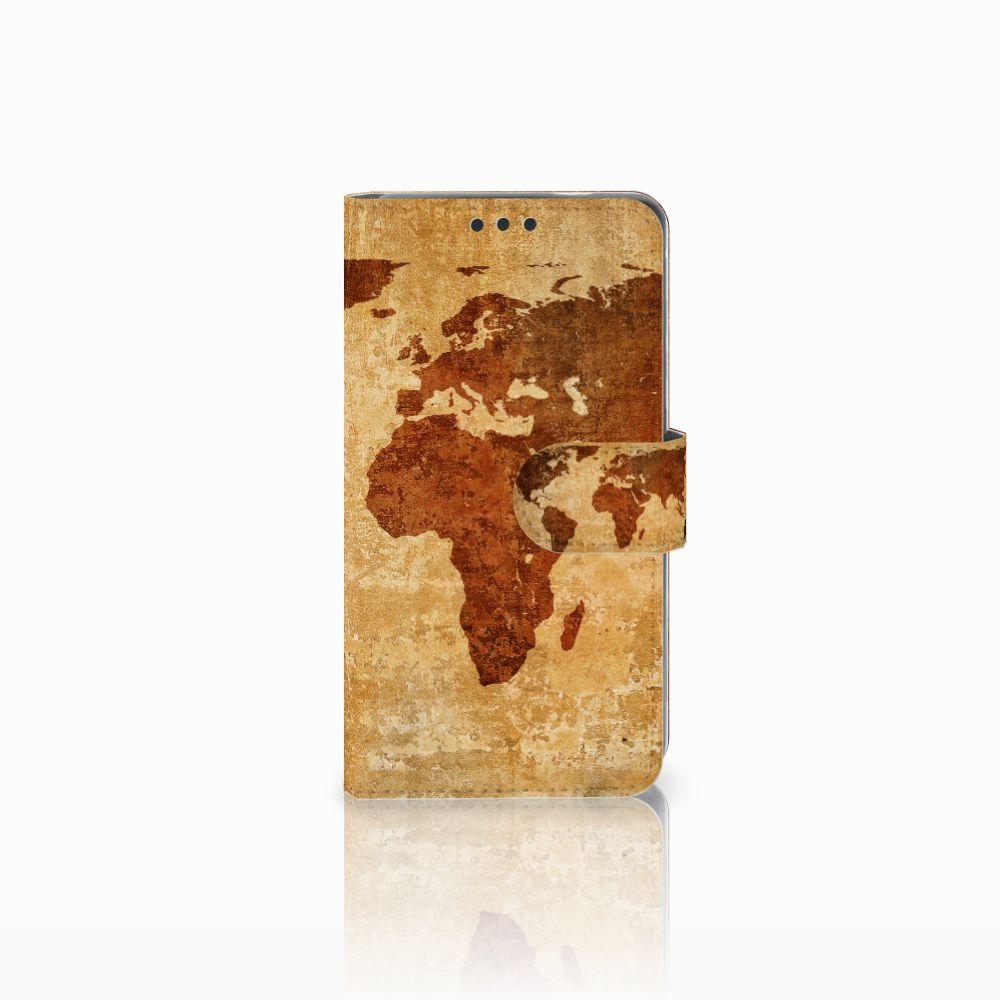 Nokia 3 Boekhoesje Design Wereldkaart