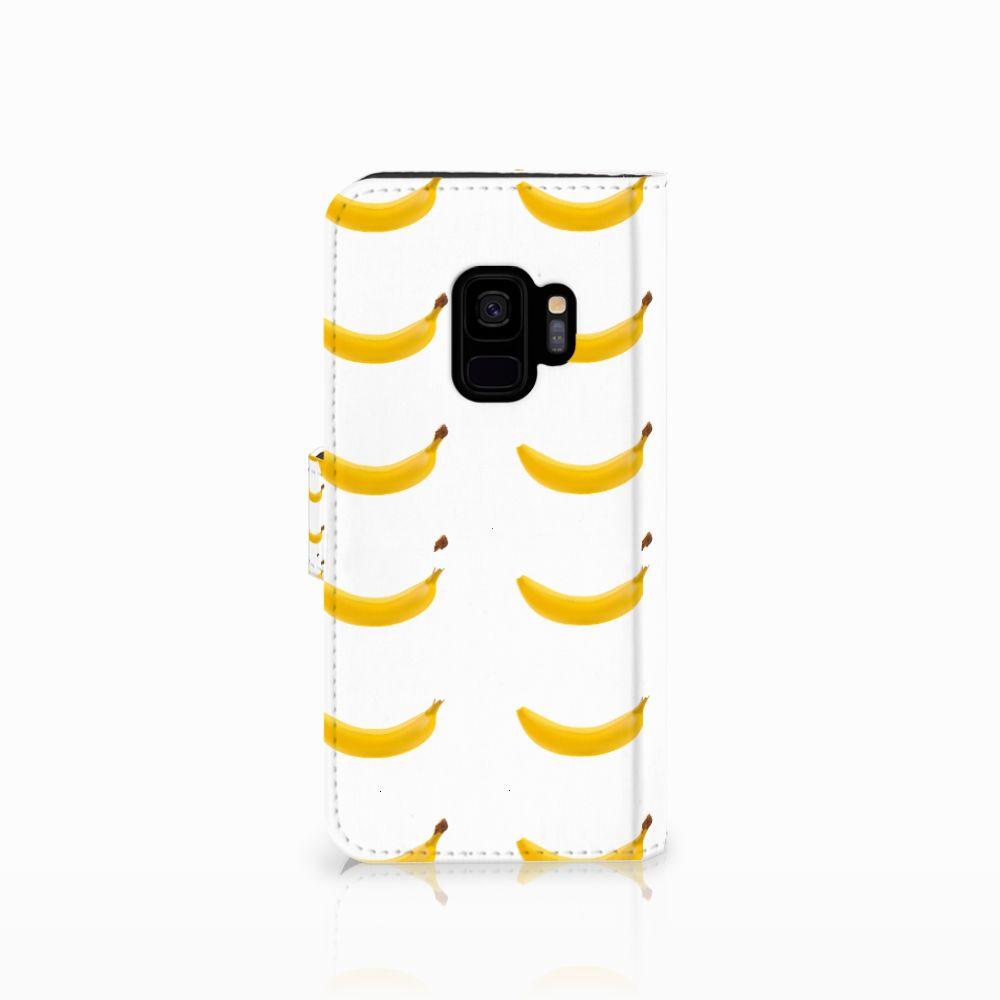 Samsung Galaxy S9 Book Cover Banana