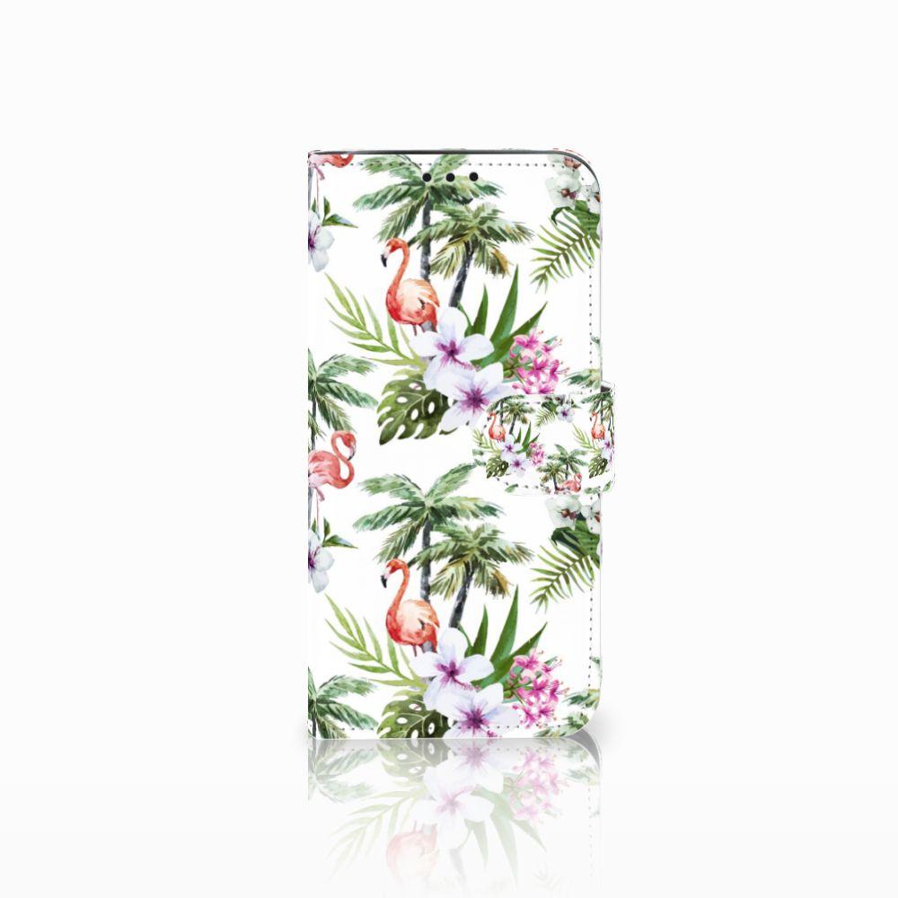 Xiaomi Pocophone F1 Boekhoesje Design Flamingo Palms