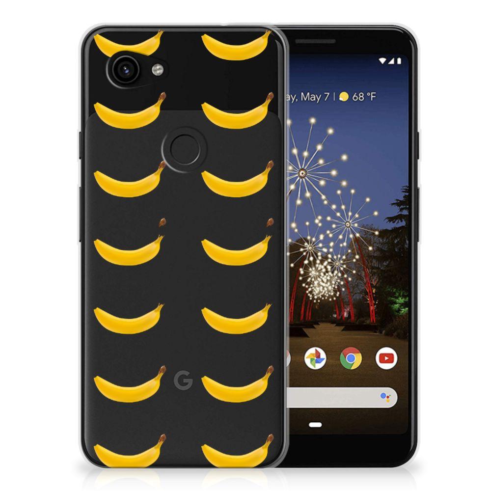 Google Pixel 3A Siliconen Case Banana