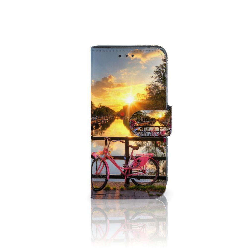 Samsung Galaxy J3 2017 Uniek Boekhoesje Amsterdamse Grachten