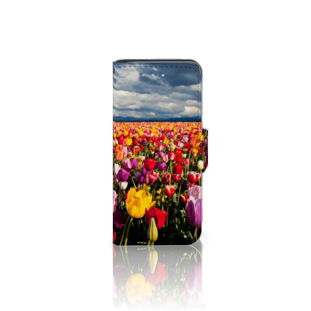 Samsung Galaxy S4 Mini i9190 Uniek Boekhoesje Tulpen